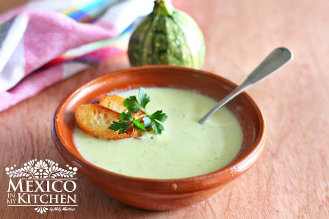Zucchini Cream soup recipe, quick and easy