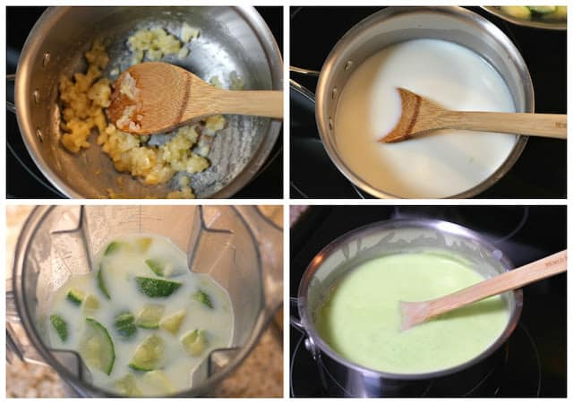 Zucchini Cream soup recipe