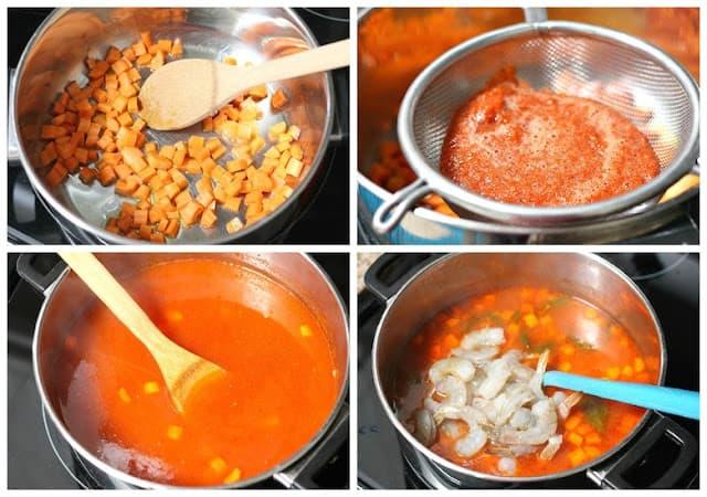 how to make Mexican Shrimp Soup Recipe