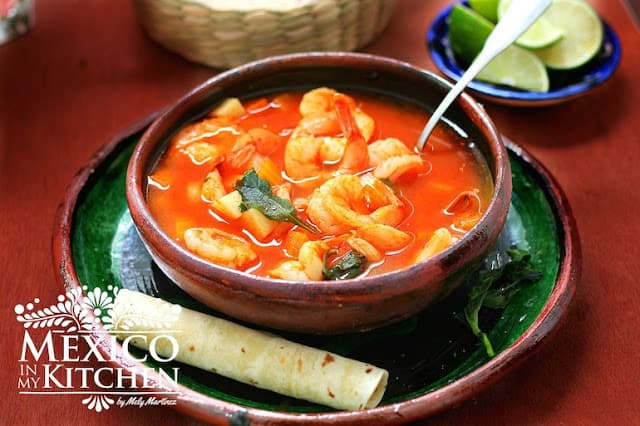 Mexican Shrimp Soup │ Caldo de Camarón Recipe