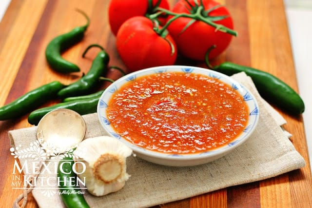 Red Fried Salsa