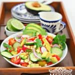 AVOCADO, TOMATO, CORN SALAD RECIPE
