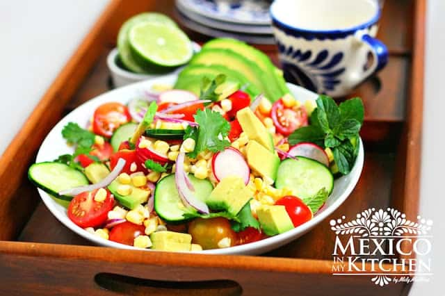Avocado Tomato Corn Salad Recipe