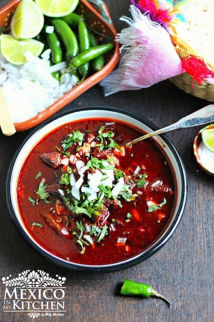 An easy Beef birria recipe, cooked with the traditional ingredients.