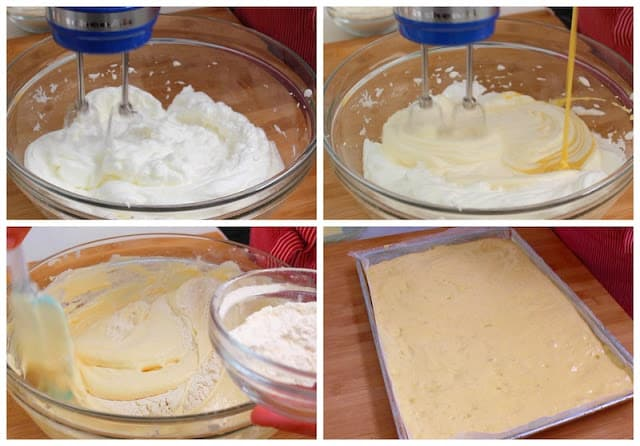 Peach cake roll recipe tutorial with video