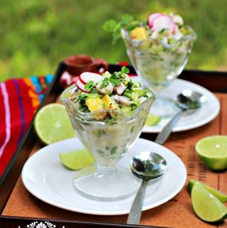 Ceviche Verde-green recipe