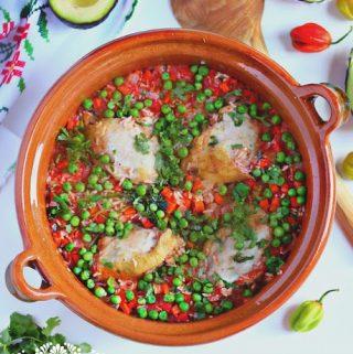 Chicken with rice │Arroz con Pollo