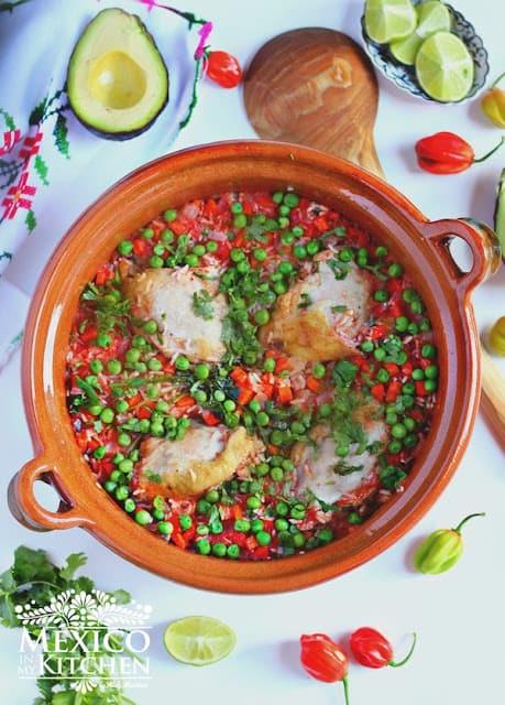 Arroz con Pollo Mexican recipe - chicken with rice