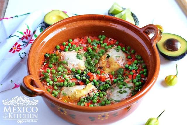 Arroz con pollo - rice with chicken recipe