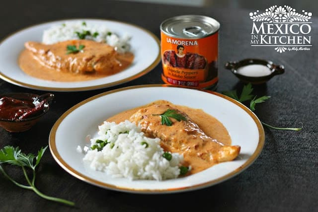Creamy Chipotle Chicken Breast, simply delicious!