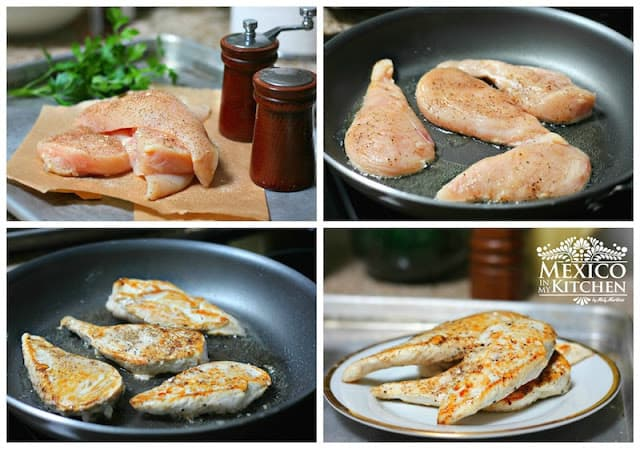 Creamy Chipotle Chicken Breast Recipe process