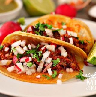 Chipotle Adobo oxtail tacos - 4