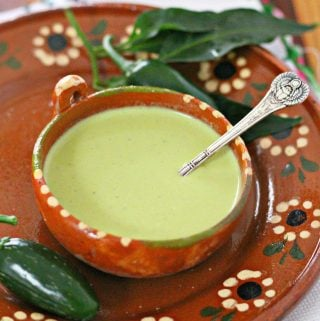 Creamy Jalapeño Salsa
