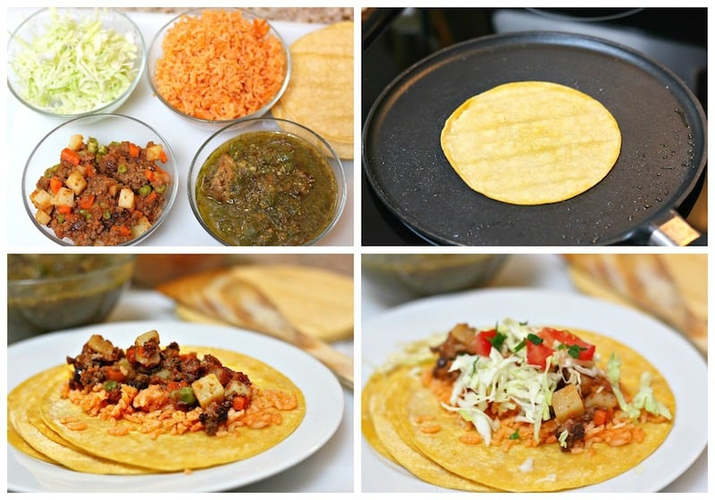 Leftover tacos recipe