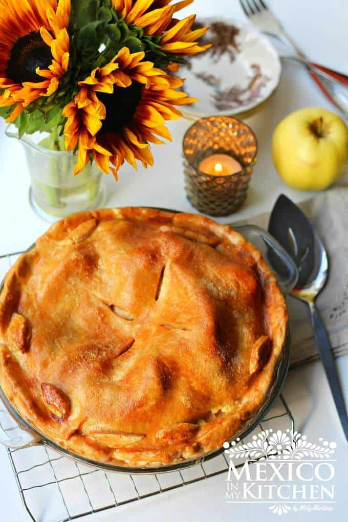 Apple pie recipe tutorial