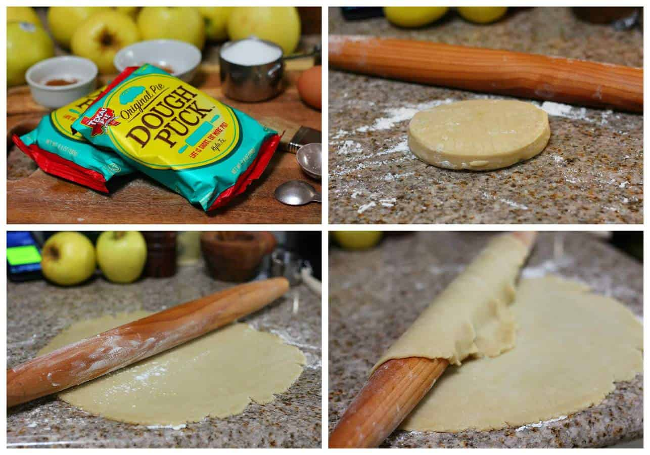 Apple pie recipe tutorial with store bought dough.