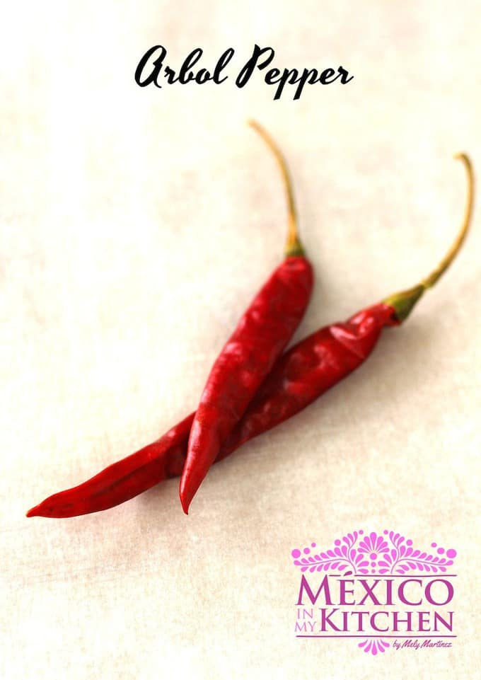 Arbol Pepper - Mexican Dried Peppers
