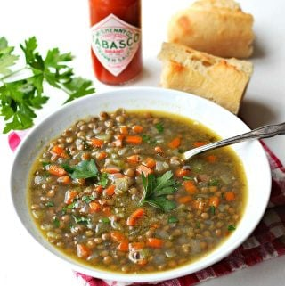 Lentil Soup Recipe | Mexican recipes