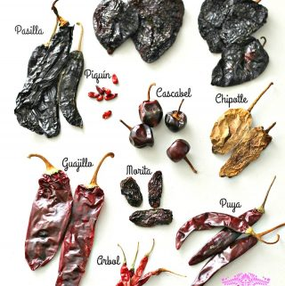 Mexican dried peppers - uses