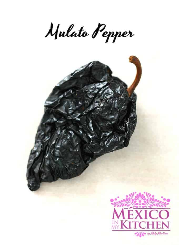 Mulato pepper - Mexican Dried Peppers