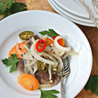Pickled beef tongue - recipe
