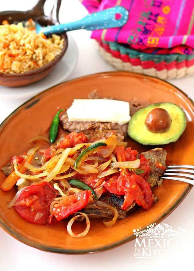 Steak Ranchero recipe authentic mexican