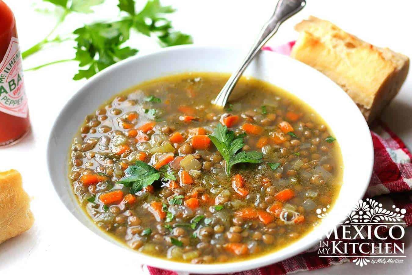 Lentil Soup Recipe - 2