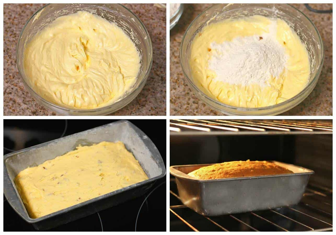 Cream Cheese Pound Cake | Panque Queso Crema, Quick and Easy Recipe