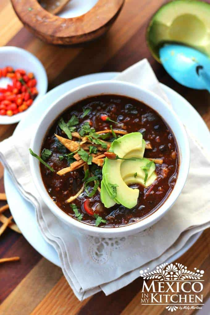 Mexican Black Bean Soup | Authentic Mexican Recipes
