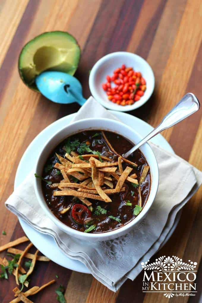 Bean recipes Mexican Black Bean Soup recipe