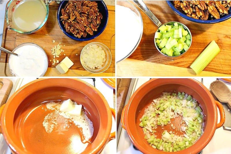 Cream of pecan Soup recipe | Mexican Food Recipes
