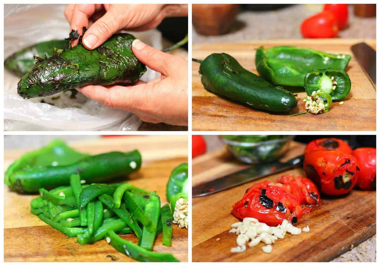Oxtail beef stew with poblano peppers | Instructions step by step, quick and easy recipe