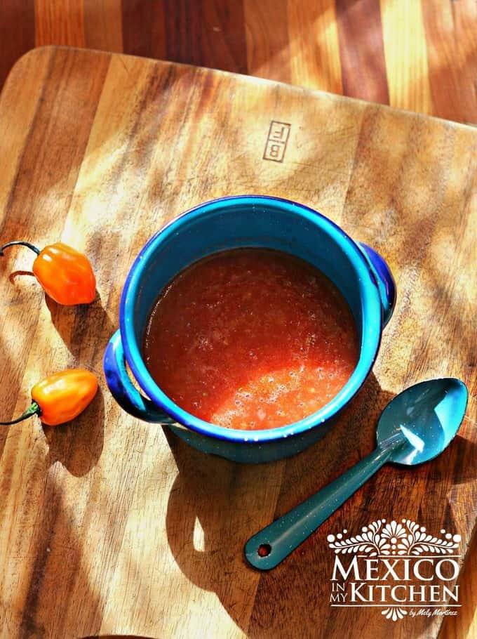 Habanero Tomato Salsa recipe
