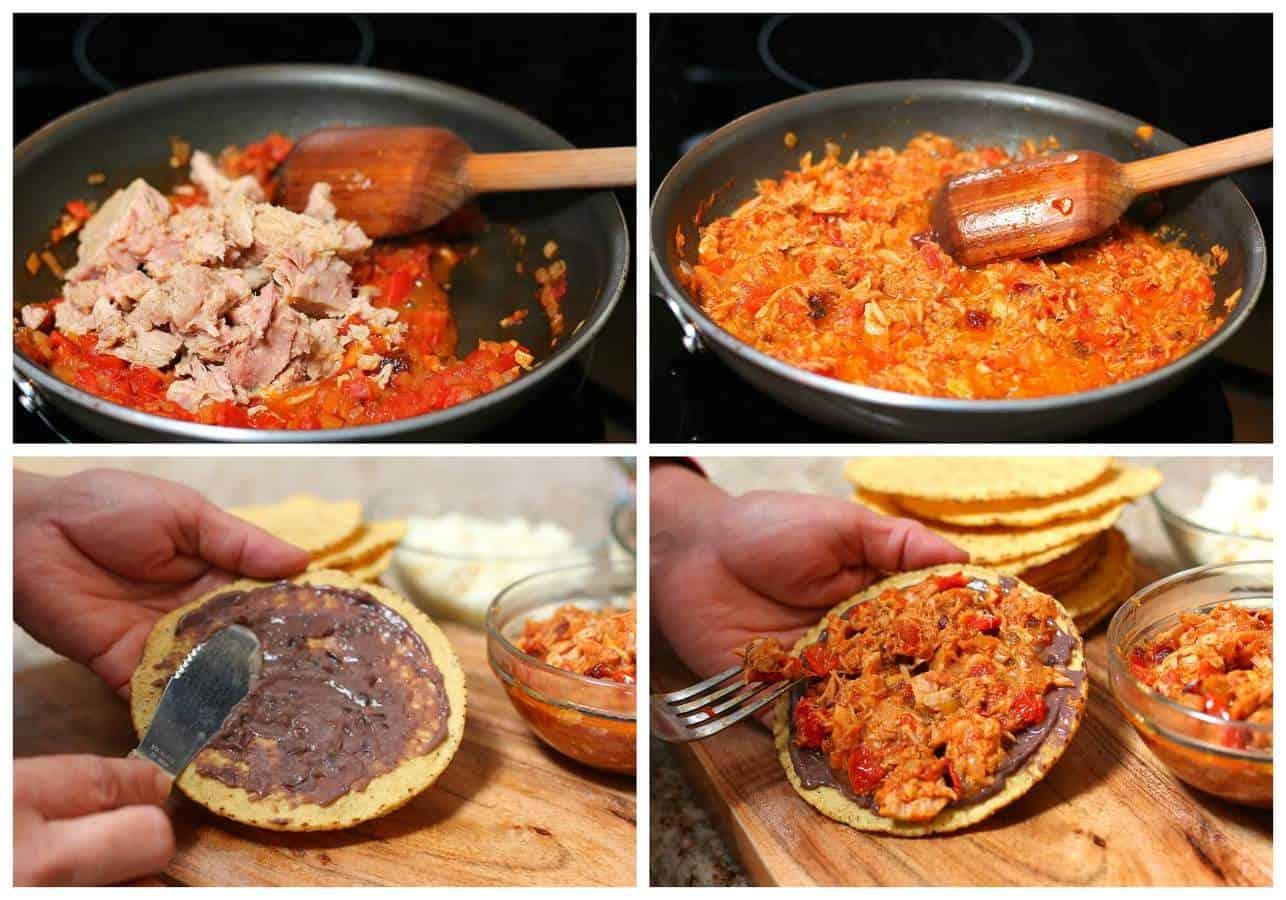 Mexican Chipotle tuna tostadas - 3- a