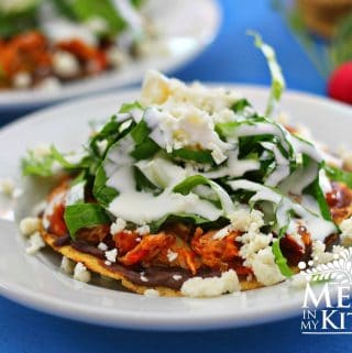 Traditional homestyle mexican food recipes mexico in my kitchen mexican chipotle tuna tostadas forumfinder Choice Image