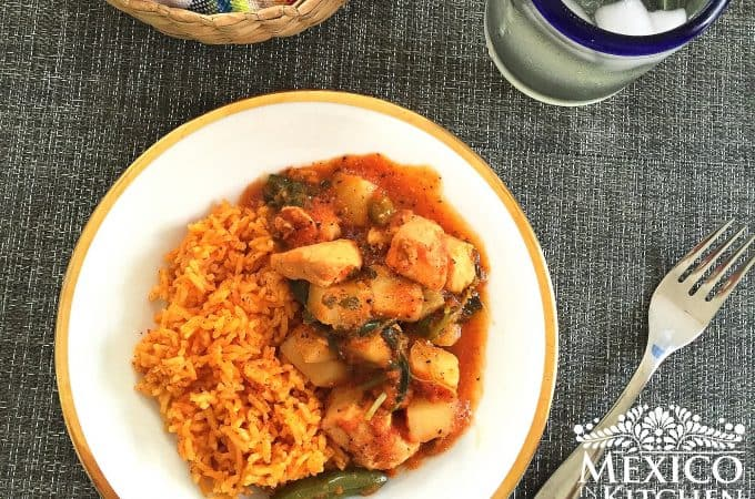 Chicken breast and vegetables stew
