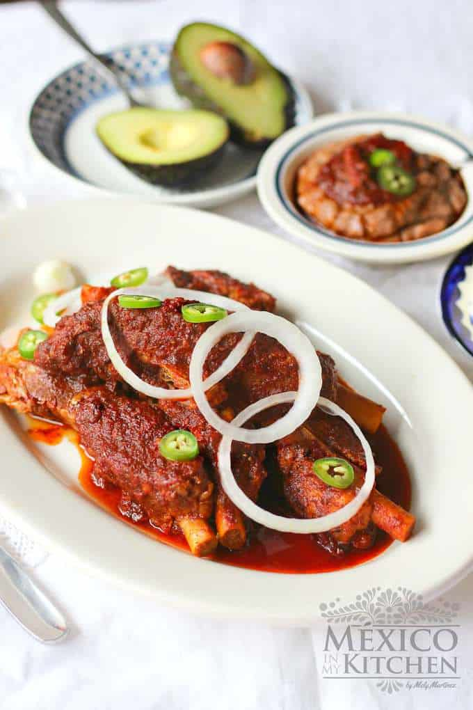 Mexican pork ribs in adobo authentic mexican food recipes pork ribs adobo mexican mexican recipe forumfinder Choice Image
