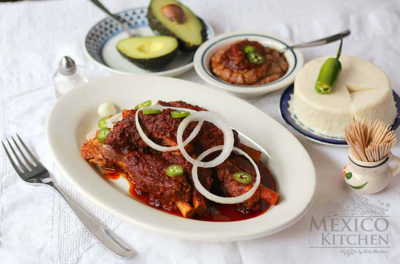 Pork ribs in adobo recipe - 2 Mexican recipe