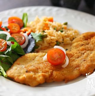 Chicken milanese recipe 1 - A Mexican