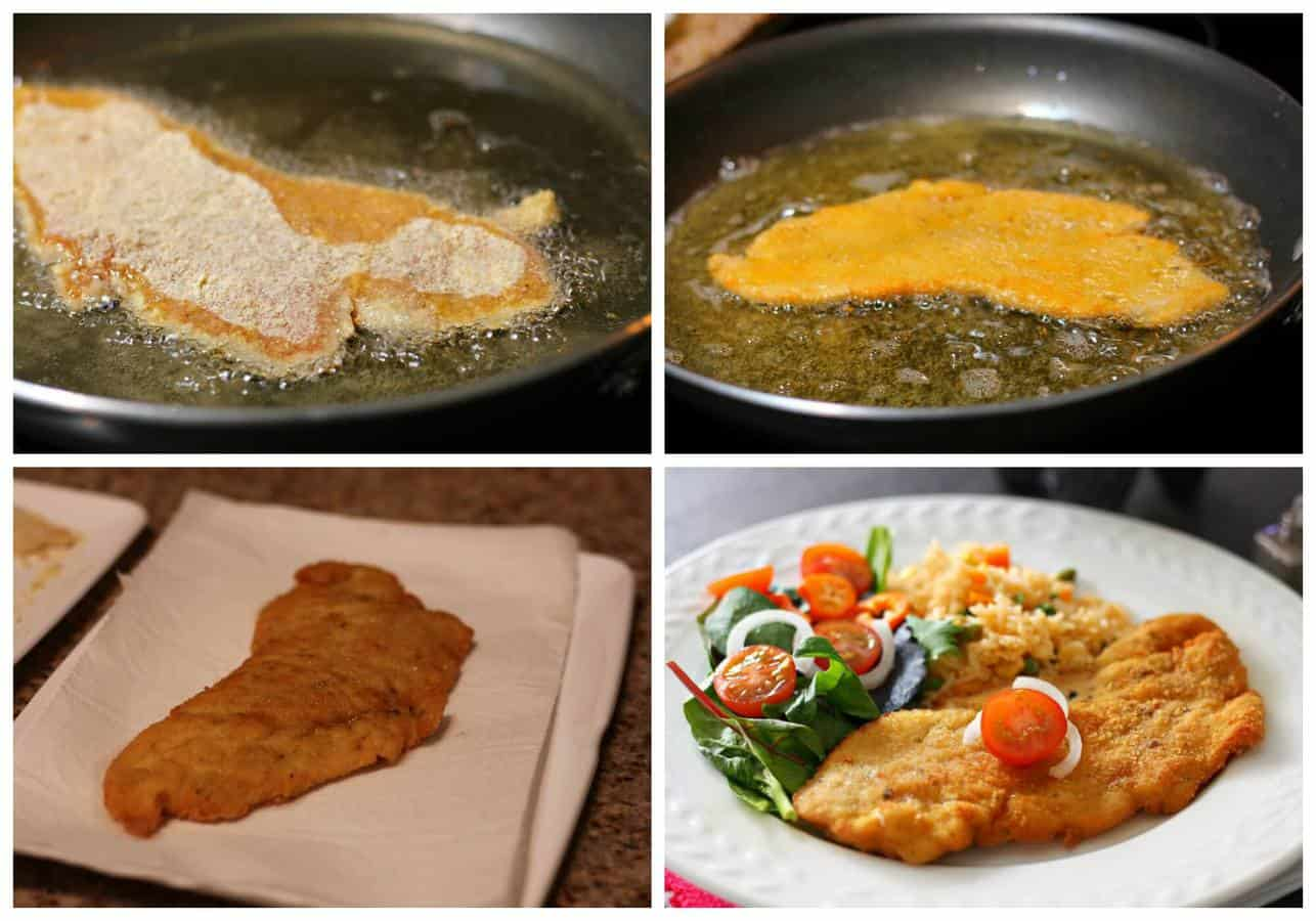 Chicken milanese step by step - 3