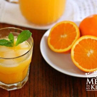 orange agua fresca recipe