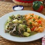 steaks in green sauce recipe