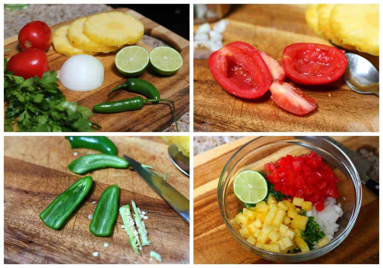 Pineapple Pico de Gallo | Mexican Recipes