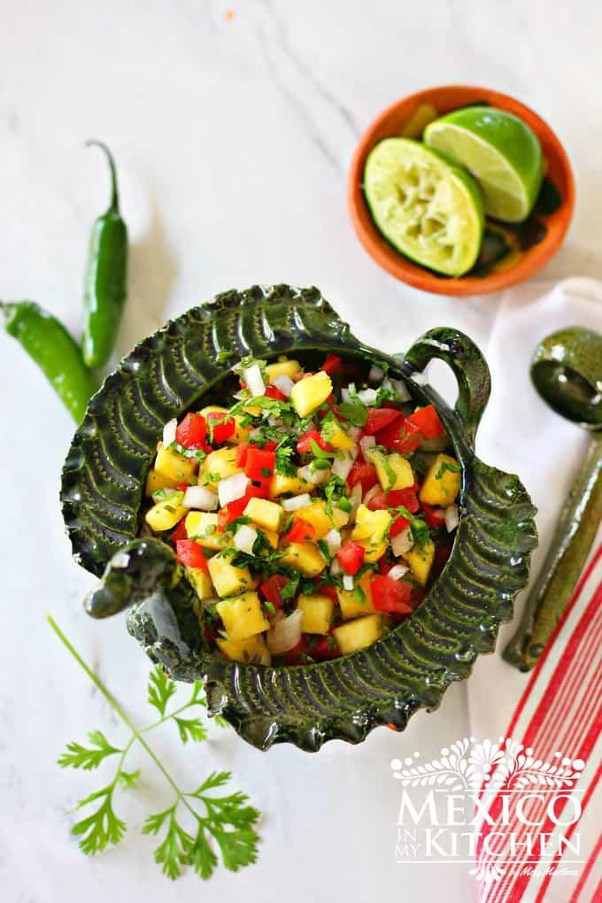 Pineapple Pico de Gallo   Mexican recipes