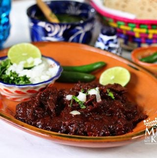 Red beef barbacoa recipe