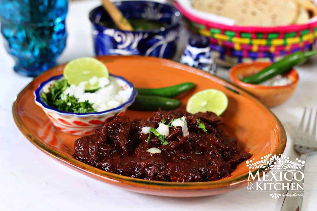 Red beef barbacoa recipe | Authentic Mexican Recipes