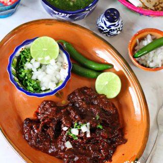 Red Beef barbacoa Recipe