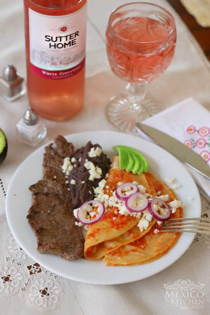 Chile piquin enchiladas recipe