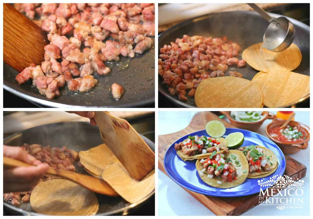 sweetbreads recipe to prepare at home for tacos, pan fry sweetbreads.