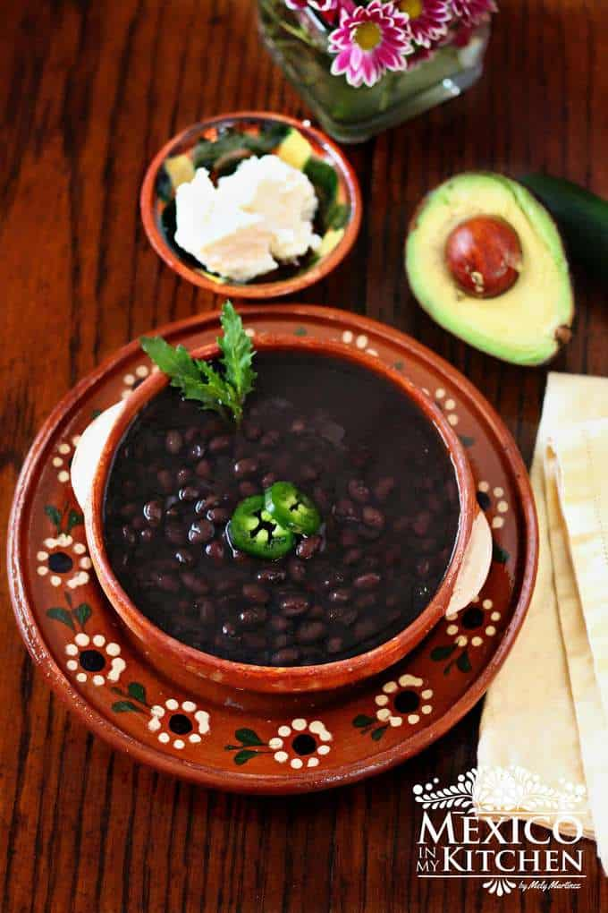 instant pot black beans recipe no need to soak the beans